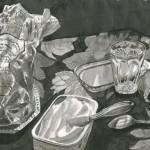 Elina Katara | Drifters | 2005 | ink on paper