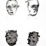 Elina Katara | In Twilight III | 2005 | ink on paper