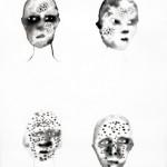 Elina Katara | In Twilight II | 2005 | ink on paper