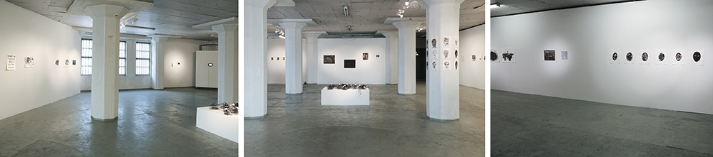 Elina Katara   Waterdamage   2013   exhibition overview, Galleria Huuto Jätkäsaari, Helsinki, Finland