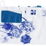 Elina Katara | I Never Promised You a Rose Garden | 2005 | ballpoint pen on official envelope
