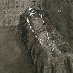 Elina Katara | News | 2003 | ink on paper