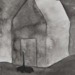 Elina Katara | Hole | 2013 | ink on paper