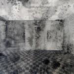 Elina Katara | After Flood | 2013 | ink and salt on paper