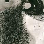 Elina Katara | Seizure | 2003 | ink on paper