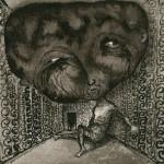 Elina Katara | Overdose | 2003 | ink on paper