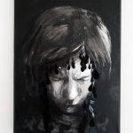 Elina Katara | Spillover (detail) | 2016 | acrylic on canvas, plastic, lash