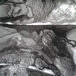 Elina Katara | Storage (detail) | 2016 | ink on paper